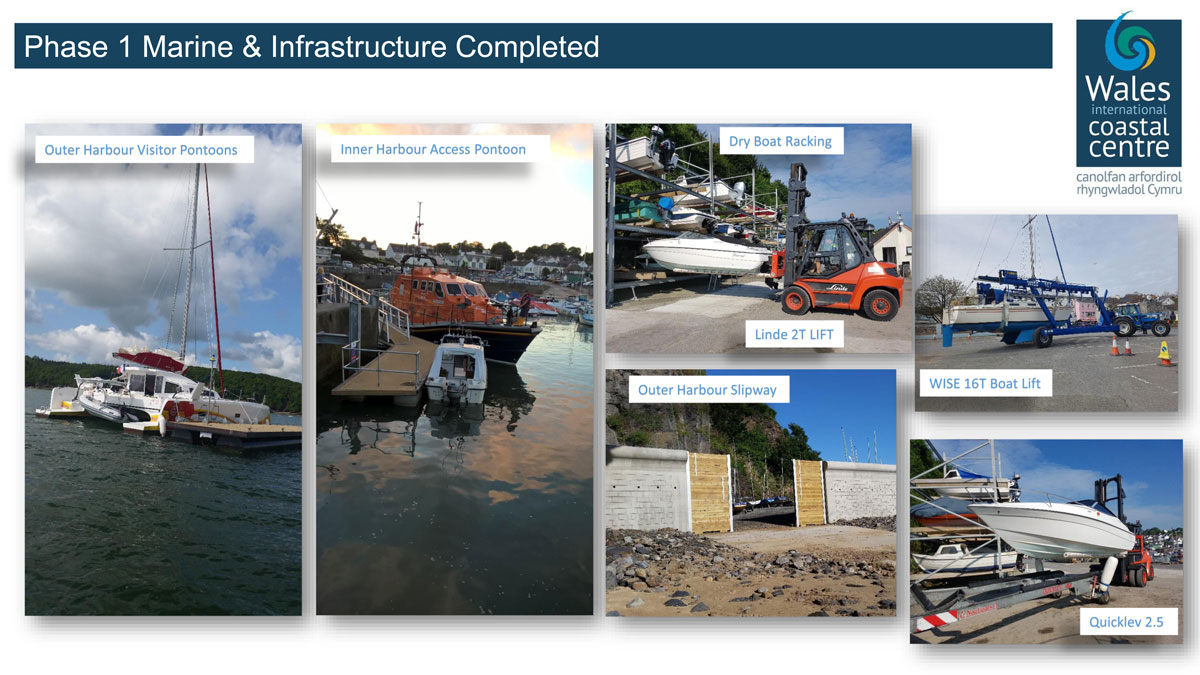 Saundersfoot Harbour Phase 2 Completed Development Work